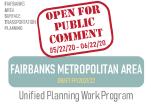 2021-2022 UPWP Update